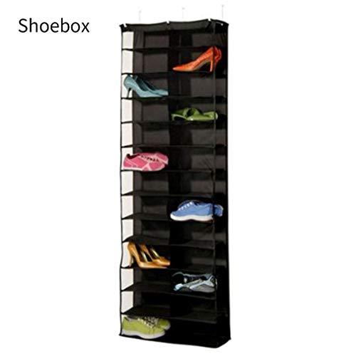 Schuhregal Aufbewahrungsbox Halter Falten Hängende Tür Schrank 26 Tasche