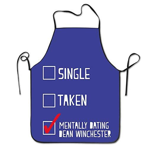mfsore NINGDUM Mental Dating Dean Winchester Küche Kochen BBQ Schürze -