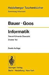 Informatik: Eine einführende Übersicht Zweiter Teil