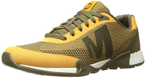 Merrell Versent, Low-Top Sneaker homme jaune (CORIANDER)