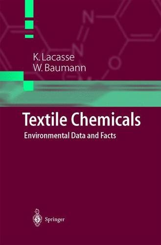 Textile Chemicals: Environmental Data and Facts (Engineering Online Library)