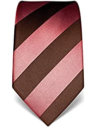 VB Cravate, pure soie, à rayures