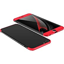 iPhone 6/6 Plus Funda Pacyer® 3 en 1 Bumper Carcasa Protective Case Dura rígida PC ultrafina Slim Fit Dactilares Protectora Caso pour iphone 6s/6s plus