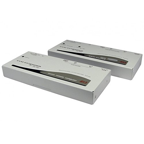 KVM Extender über Cat5e Ethernet Netzwerk Kabel-SVGA VGA & PS/2-bis zu 150m -