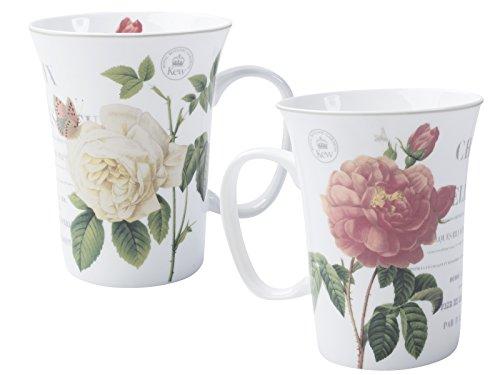 KEW GARDENS Creative-Tops-Tasse mit Tiermotiv, Keramik, Queen Charlotte's Memoirs, 12 x 11 x 9 cm -