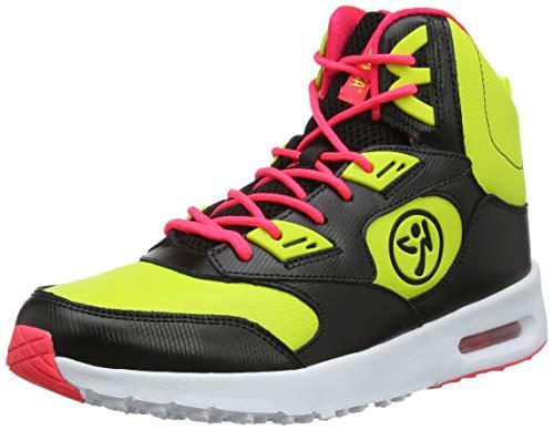 Zumba Air Classic Sportliche High Top Tanzschuhe Damen Fitness Workout Sneakers, Zumba Green, 38 EU