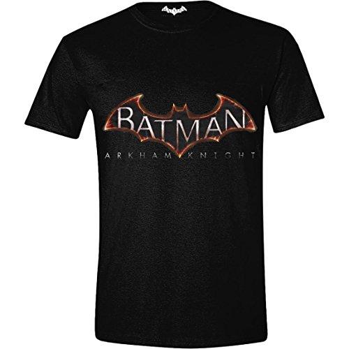 TimeCity Batman - Arkham Knight - Logo Black (T-Shirt Unisex TG. 2XL) Ufficiale