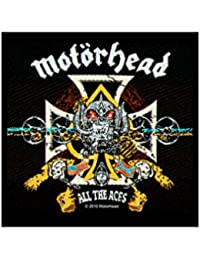 Motörhead écusson-all the aces-motörhead patch-tissés & sous licence.