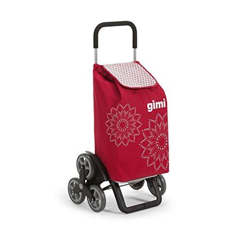 Gimi Tris Floral Rouge Poussette de marché