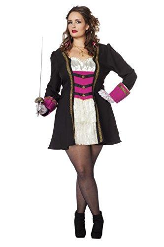 Generique - Sexy Piraten-Kostüm für Damen
