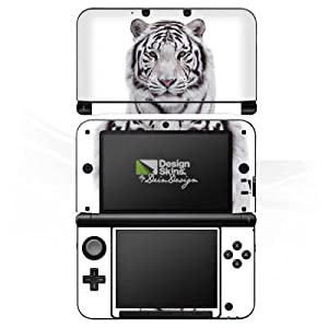 DeinDesign Skin kompatibel mit Nintendo 3 DS XL Folie Sticker Tiger Schnee Winter