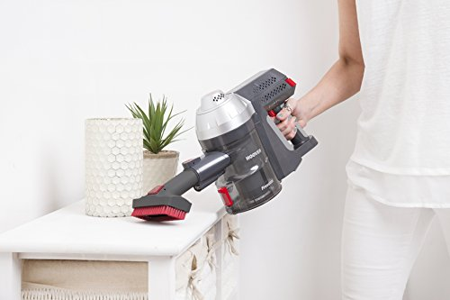 41Wvla482FL - Hoover Freedom 3in1 Cordless Stick Vacuum Cleaner, FD22G, Handheld, Above Floor, Lightweight, Wall Mount, Tools - Silver/Grey