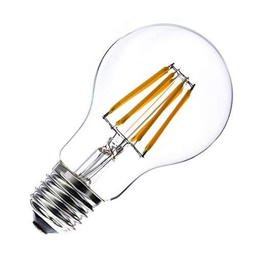 Bombilla LED E27 Filamento Classic A60 6W Blanco Cálido 2000K-2500K efectoLED