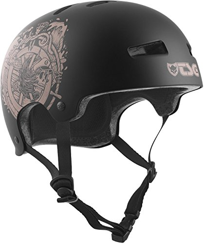 TSG Erwachsene Evolution Graphic Design Helm, Pirates, S/M