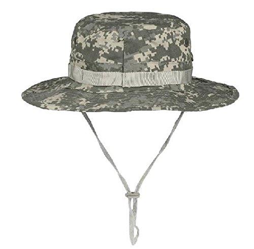 ACU Camo Grigio Boonie militare di caccia dell'esercito pesca benna