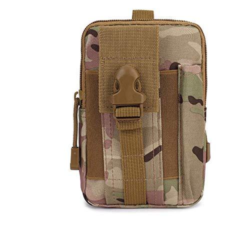 Taschen Militärtaschen Tragbare Taschen Große Militärtaschen Zum täglichen Angeln Camping Wandern Jagd Einkaufen (Tarnfarbe) -