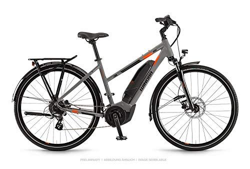 Winora Yucatan 8 400 Damen Pedelec E-Bike Trekking Fahrrad grau 2019: Größe: 48cm