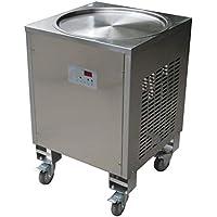 Envío gratuito a la puerta 50cm Single Pan Fried helado máquina instantánea rollo de helado máquina
