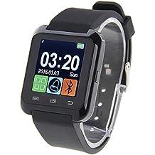 U80 Bluetooth Health Smart Watch Pantalla LCD DE 1.5 Pulgadas para teléfono móvil Android, (