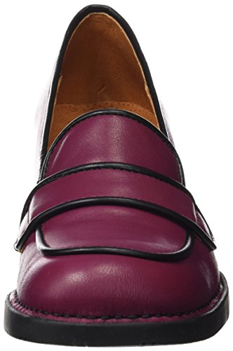 Art 76, Pumps con Tacco Donna Viola (Star Cerise-black)