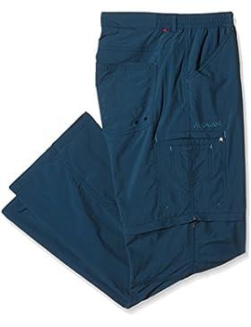 VAUDE–Pantaloni da donna Farley ZO Pants IV, Donna, Hose Farley ZO Pants IV, Petrolio scuro, 38 / S