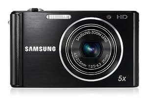 Samsung ST76 Appareil photo numérique compact - Noir (16,1 MP, zoom optique 5x)