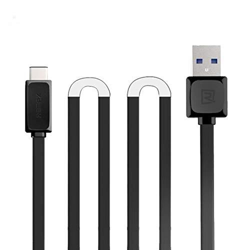 Cable REMAX Type-C 2.1A 1M Fecha Carga rápida USB