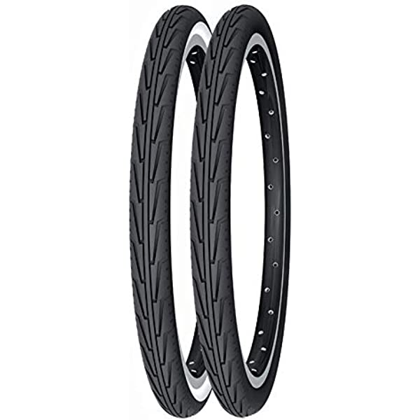 TWO 500a (37 440) 20 BLACK BIKE TYRES