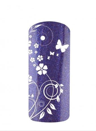 Vernis semi permanent métallisé violet blue NDED 15ml - 9118