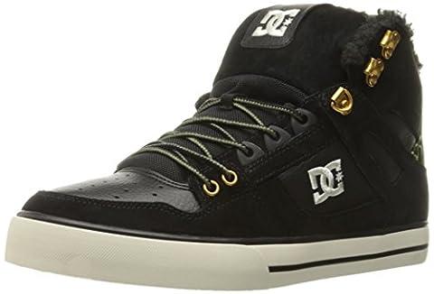 DC Shoes Men's Spartan High WC WNT Hi Top Shoes Black Camo (BLO) 17