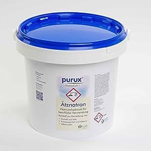 Ätznatron Natriumhydroxid NaOH 5kg Ätzsoda E524
