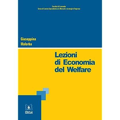 Lezioni Di Economia Del Walfare