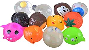 Squishy Splat Ball Assortment Pack (Pack of 12)