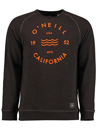 O'Neill Herren Jacks Base Logo Crew Sweat Sweatshirts Black Out