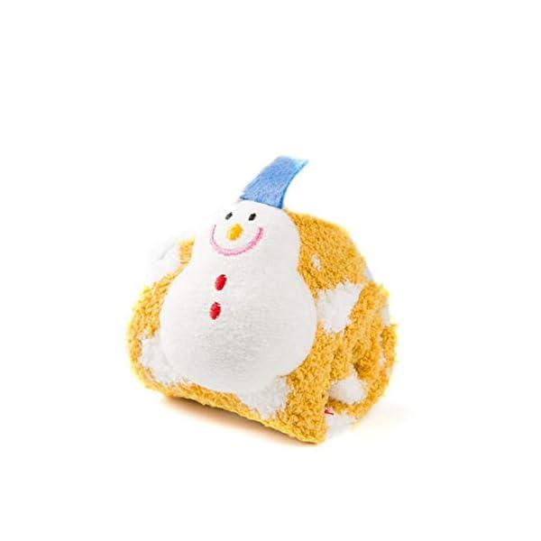 rt7fg7fd4gf Dibujos Animados de Navidad Coral de Terciopelo Grueso Caliente del Piso Calcetines Calcetines Amarillos… 4