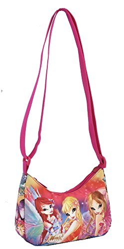 Preisvergleich Produktbild Coriex RAINBOW Winx Schultertasche Kinder-Sporttasche W91598 FU, 17 cm, Multicolor