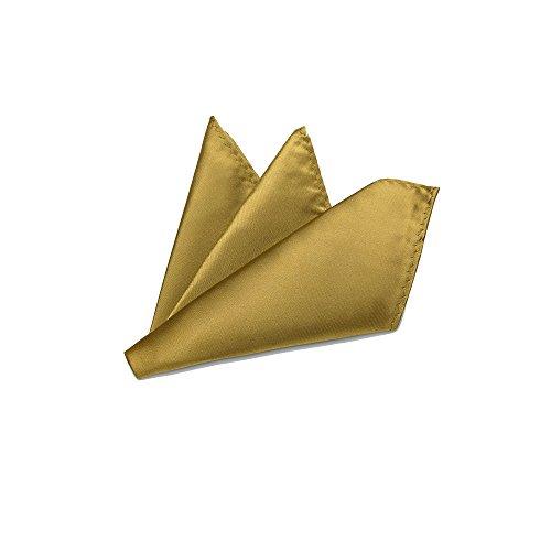 Rusty Bob - Einstecktuch einfarbig - Tuch aus Polyester - Kavalierstuch Pochette Stecktuch - Taschentuch (Ivory/Creme) Creme Utensil
