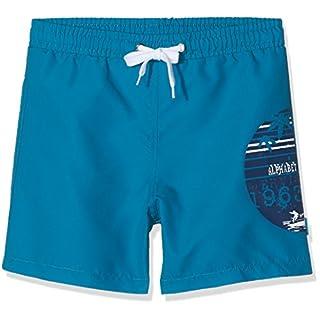 Alphabet Jungen Badeanzug BAIN Lay ET Garcon, Blau (Bleu Fonce 48), 5 Jahre (Hersteller Größe: 5A)