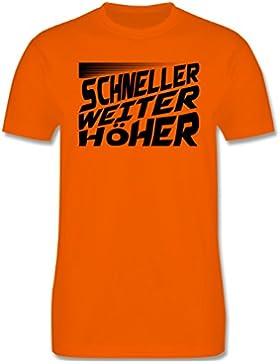 Sport Kind - Schneller, Höher, Weiter - Kinder T-Shirt
