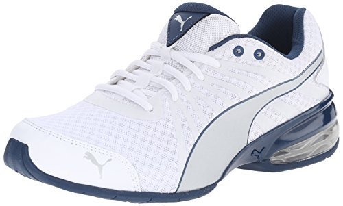 Puma cellulaire Kilter Cross-training Shoe White/Silver/Poseidon