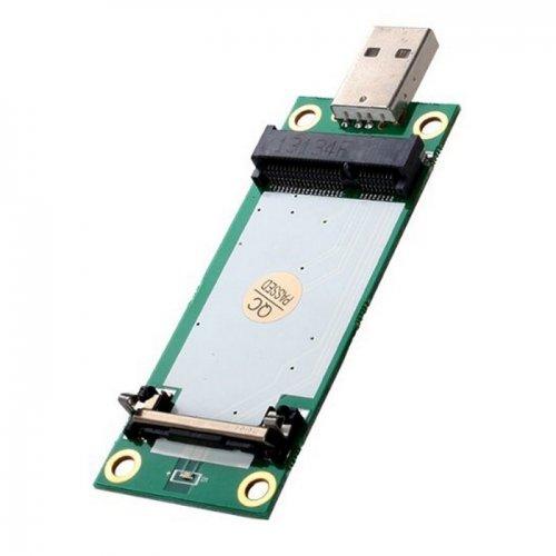 jser Mini PCI-E Wireless WWAN auf USB Adapter Karte mit SIM Card Slot Modul Testen Tools