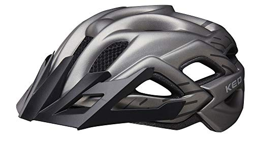 KED Status Jr. Helmet Kinder Anthracite Black matt Kopfumfang M | 52-59cm 2019 Fahrradhelm