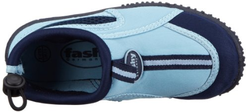 Fashy Guamo Kinder Aqua-Schuh 7495 51 Jungen Sport- & Outdoor Sandalen Blau (Marine-Hellblau 51)