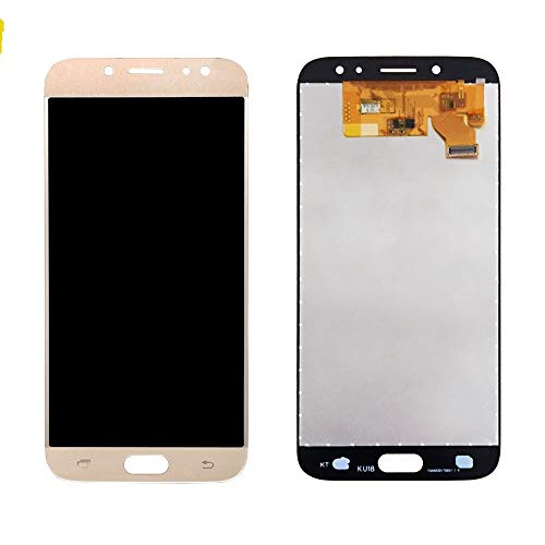 Skyline TFT LCD Ersatz Samsung Galaxy J7Pro 2017Duos j730j730F sm-j730g/DS sm-j730F/DS, sm-j730fm/DS, sm-j730gm/DS j730K Come near Telly Digitizer LCD Display Montage, Gold