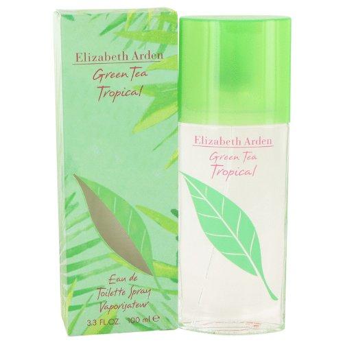 Green Tea Tropical by Elizabeth Arden Eau De Toilette Spray 100 ml for Women