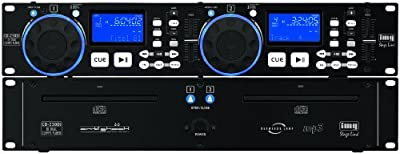 IMG Stage Line CD-230DJ Professional DJ Dual CD Player and MP3 Player