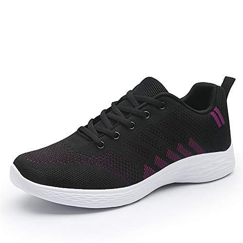 Donna Scarpe da Corsa Sport Ginnastica Classica Stringata Sneaker Palestra Running Sneaker