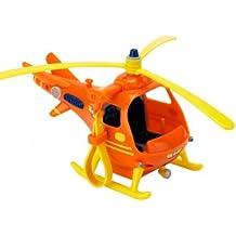 Sam El Bombero - Fireman Sam - Mountain Rescue Helicopter Helicóptero FS03599