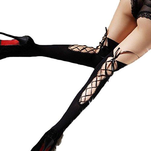 Vovotrade® Calzini Bind donne sexy autoreggenti Calze Nightclub (Bow Calzini)