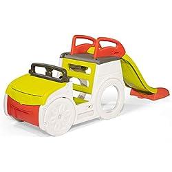 Smoby- Adventure Car Voiture Multi-activités, 7/840205, Coloré